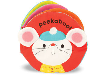 Peekaboo - cloth book
