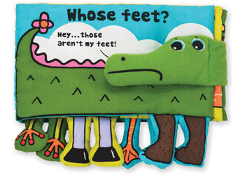 Whose feet? - Cloth Book