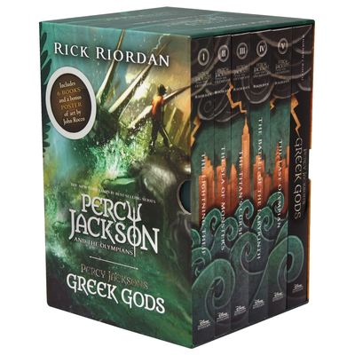 Percy Jackson and the Olympians - boxed set