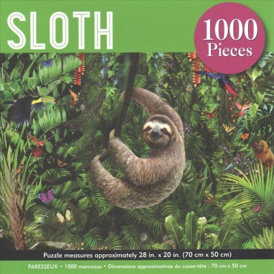 Sloth Jigsaw Puzzle : 1000 Pieces