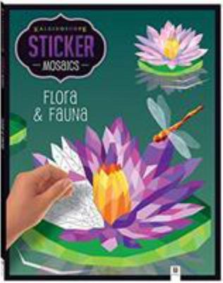Kaleidocope Sticker Mosaics Flora & Fauna Colour by Sticker