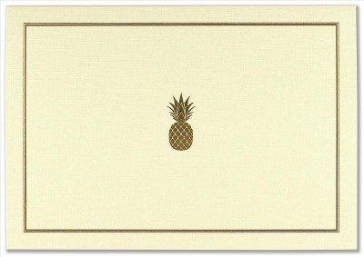 Boxed Notecards: Pineapple