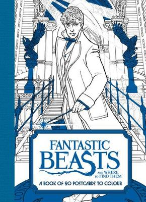 Fantastic Beasts and Where to Find Them: 20 Postcards to Colour