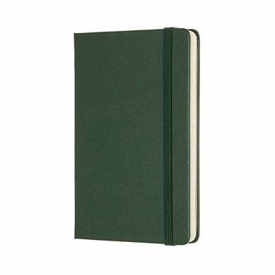 Moleskine Classic Hard Cover Notebook Myrtle Green Ruled