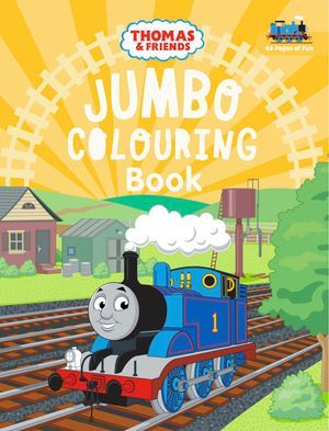 Thomas & Friends Jumbo Colouring Book