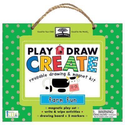 Green Start Play, Draw, CreateFarm Fun