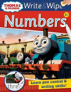 Thomas Write & Wipe Numbers