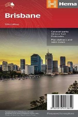 Brisbane Handy Map 12th Edition