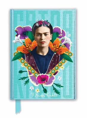 Frida Kahlo Blue (Foiled Journal)