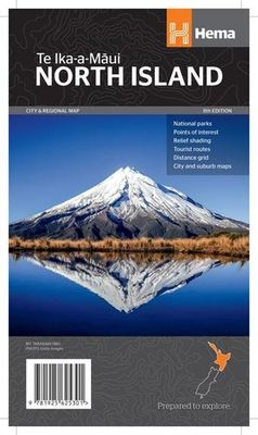 North Island New Zealand Map