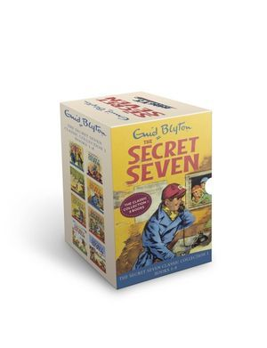 Secret Seven books 1-8 Slipcase