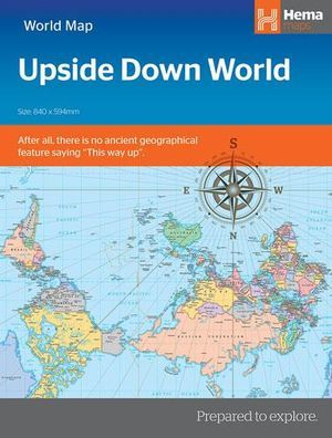 Upside Down World map 12e