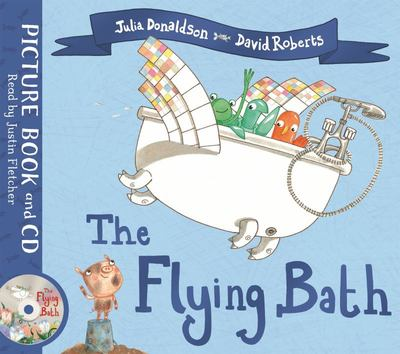 The Flying Bath (Book and CD Pack)