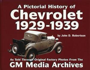 A Pictorial History of Chevrolet 1929-1939