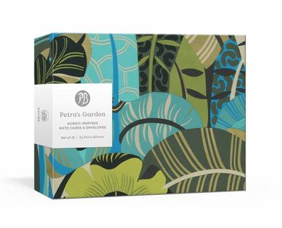 Petra's Garden Note Cards - Nordic-Inspired Note Cards and Envelopes