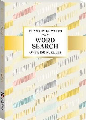 Classic Puzzles Wordsearch Pastel Lines