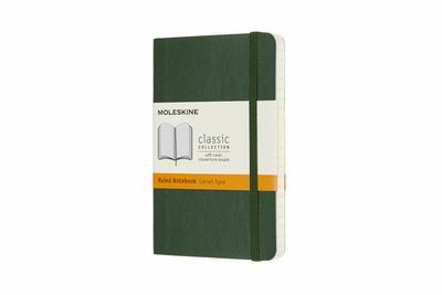 Moleskine Classic Soft Cover Notebook Myrtle Green