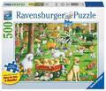 Ravensburger At the Dog Park Large Format Puzzle 500pc