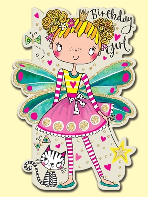 Card - Birthday Girl Fairy