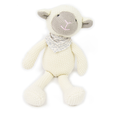 Pearl Knit Lamb Soft Toy