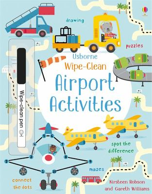 Wipe-Clean Airport Activities