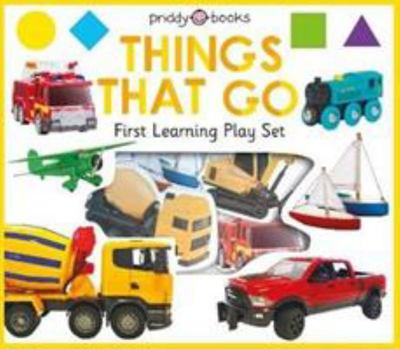First Learning Things That Go Play Set