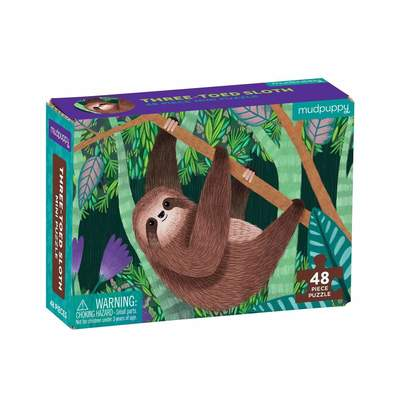Three-toed Sloth Mini Puzzle (48 pce)