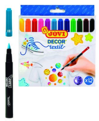 Jovi Decor Textile Pens (12)