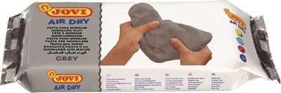 Jovi Air Dry Modeling Clay Grey 500g