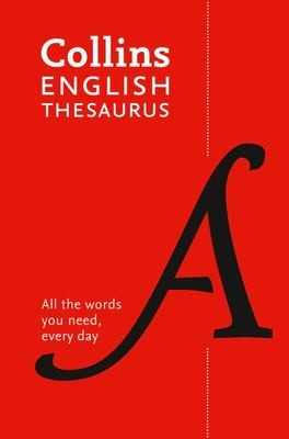 Collins English Thesaurus Essential PB - 8th Edition