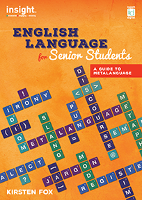 ENGLISH LANGUAGE FOR SENIOR STUDENTS A GUIDE TO METALANGUAGE