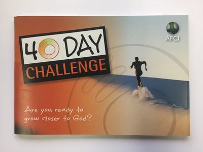 40 Day Challenge - Are You Ready to Grow Closer to God?