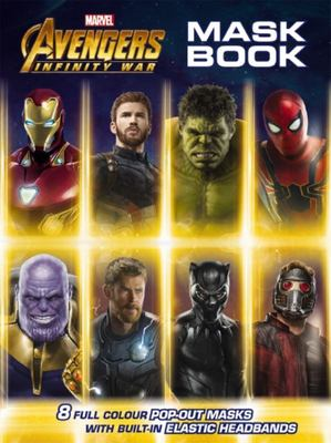 Avengers Infinity War: Mask Book
