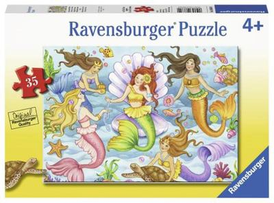 Ravensburger Queens of the Ocean Puzzle 35pc