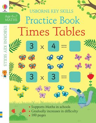 Key Skills Times Table Practice Pad 6 7