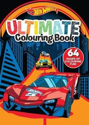 Hot Wheels Ultimate Colouring Book
