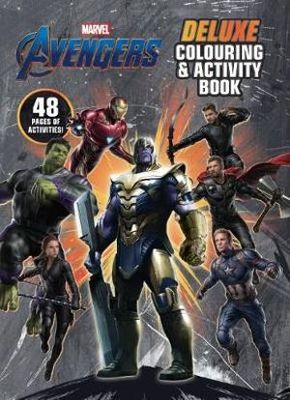 Avengers 4: Deluxe Colouring and Activity Book