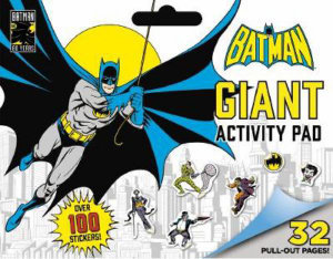 DC Comic - Batman Giant Activity Pad