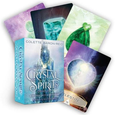 Crystal Spirits Oracle - 60-Card Deck and Guidebook