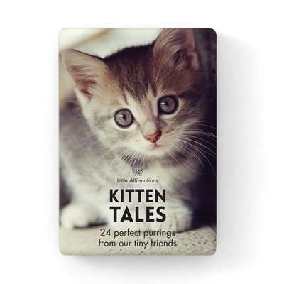 Kitten Tales: Boxed Set of 24 Affirmation Cards [DKT]