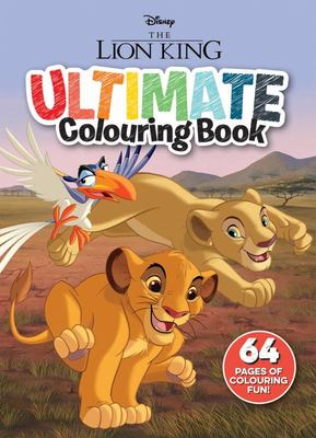 The Lion King - Ultimate Colouring