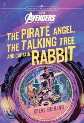 The Pirate Angel, Talking Tree, and Captain Rabbit (Avengers Endgame)