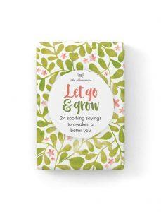 Let Go & Grow - 24 Affirmation Cards