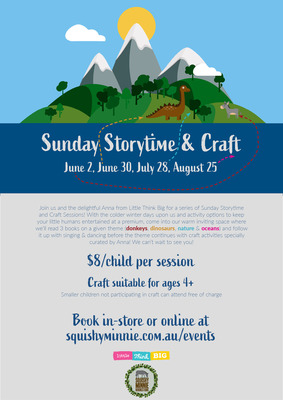 Sunday Storytime & Craft - Oceans - August 25