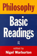 Philosophy - The Basic Readings