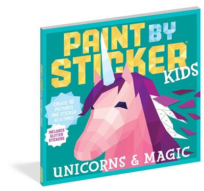 Unicorns and Magic: Paint by Sticker