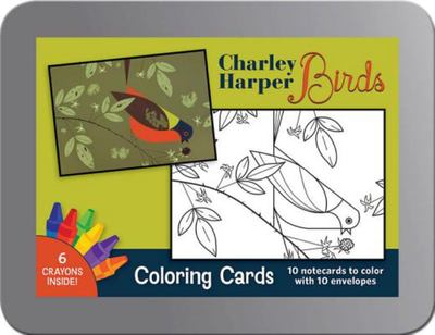 Charley Harper Birds Colouring Cards
