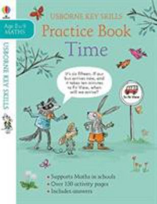 Usborne Key Skills: Practice Book - Time  (Ages 8-9)