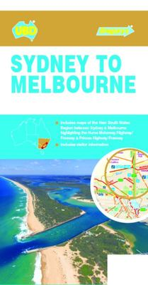 Sydney to Melbourne Touring Map 245 7th Ed