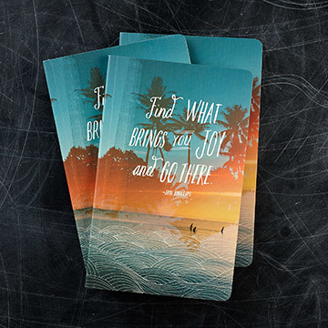 Find What Brings You Joy and GO There (Lined Journal)